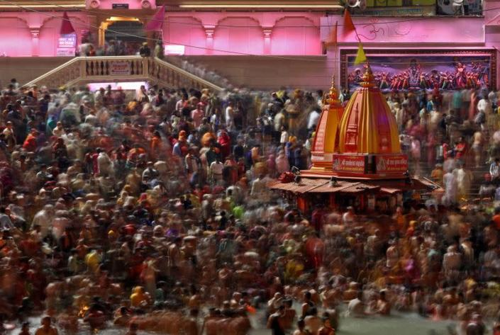 FILE PHOTO: Kumbh Mela in Haridwar
