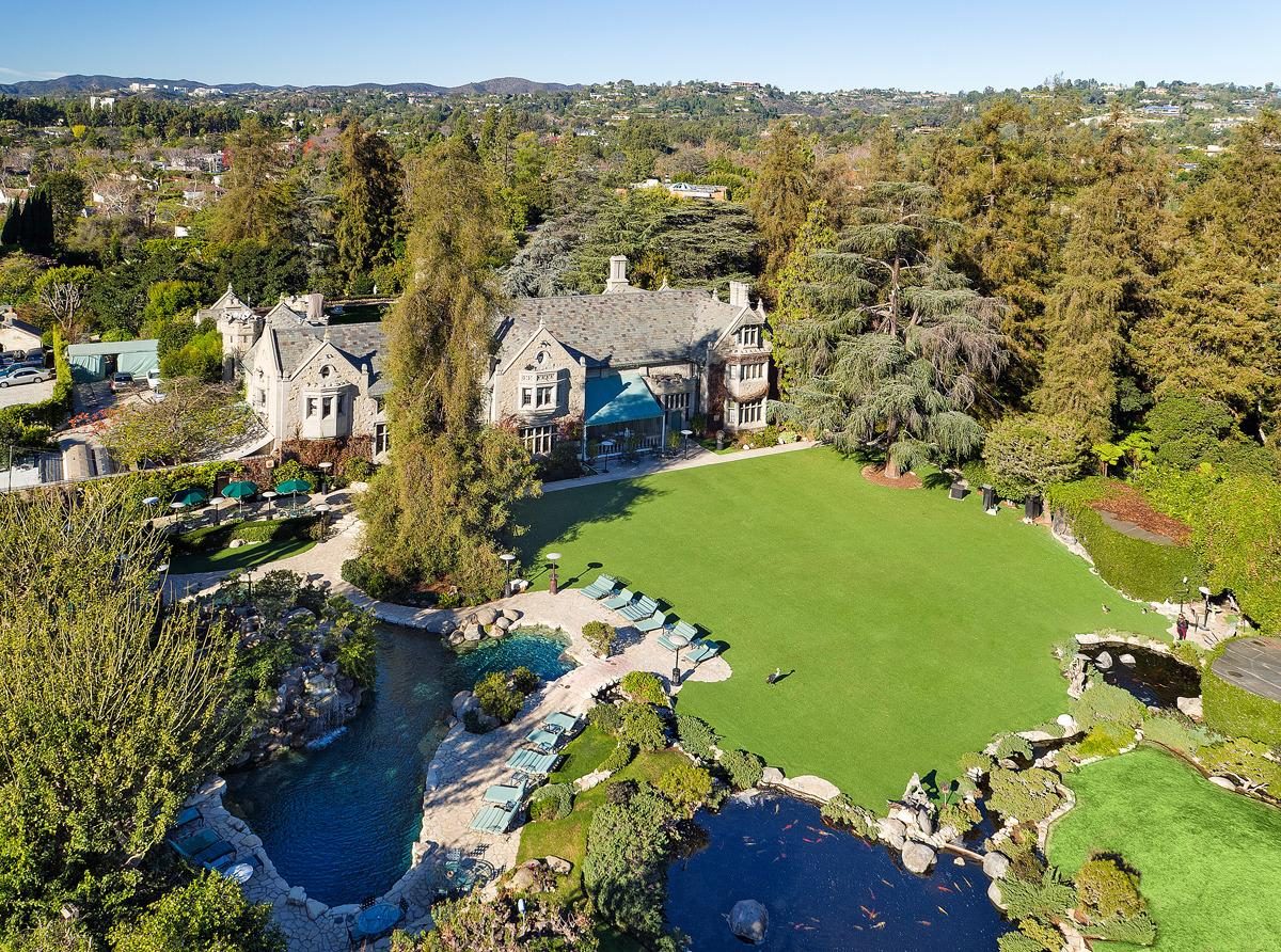 "<p>The lot is 5 acres in Los Angeles' Holmby Hills, part of the so-called Platinum Triangle along with Beverly Hills and Bel Air. (Listing photo by Jim Bartsch via <a href=""http://bit.ly/1woxcjL"" target=""_blank"">The Agency</a>)</p>"
