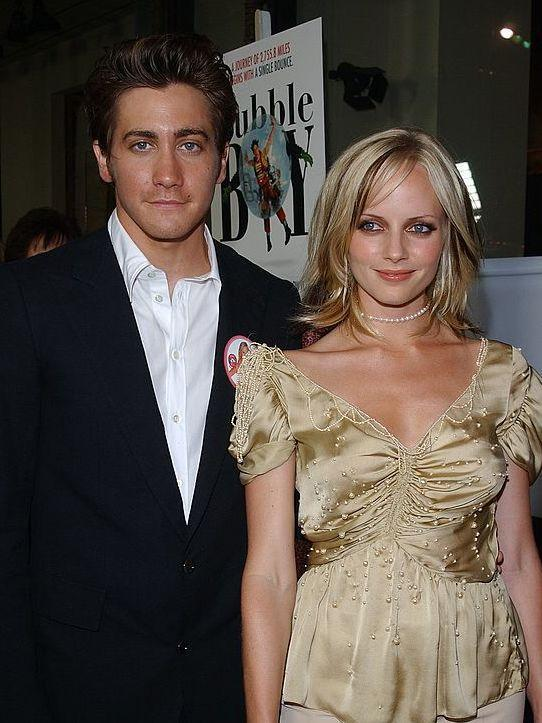 Nostalgia: Gyllenhaal and Marley Shelton at the LA premiere of 'Bubble Boy' (Vince Bucci/Getty)