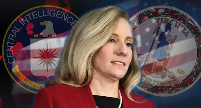 Abigail Spanberger, the Democratic candidate for Virginia's Seventh Congressional District. (Photo illustration: Yahoo News; photos: Steve Helber/AP, AP)