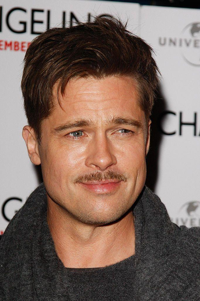 <p><strong>Brad Pitt</strong></p><p>Can a mustache be subtle? The Pencil makes the case that with a little careful shaping, a mustache doesn't have to overwhelm your face. What keeps this style looking intentional is length—this is not just a dusting of hair because you forgot to shave. Trimmed just above the lip and never outside the corners of the mouth, a pencil mustache is all about maintenance.</p>