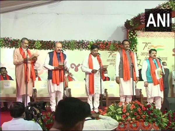 Visual from the sweating in ceremony. (Photo/ ANI)