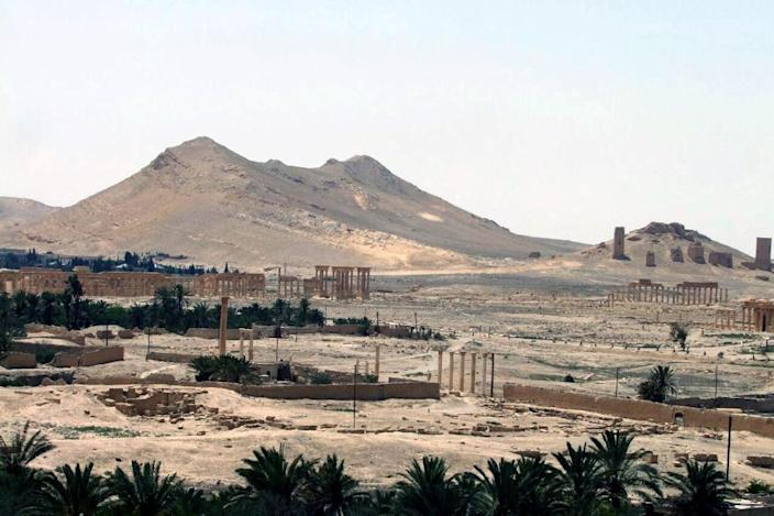 A handout picture released by the official Syrian Arab News Agency (SANA) on May 17, 2015 shows the ancient oasis city of Palmyra (AFP Photo/)