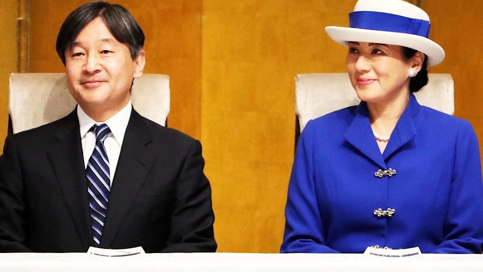 Emperor Naruhito and Crown Princess Masako, pictured here in 2018.