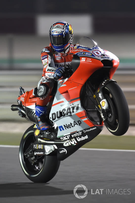 "#40 - Andrea Dovizioso - GP de Qatar 2018<span class=""copyright"">Gold and Goose / Motorsport Images</span>"