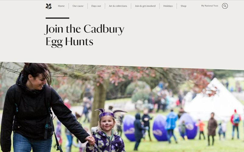 National Trust - Credit: Daily Telegraph