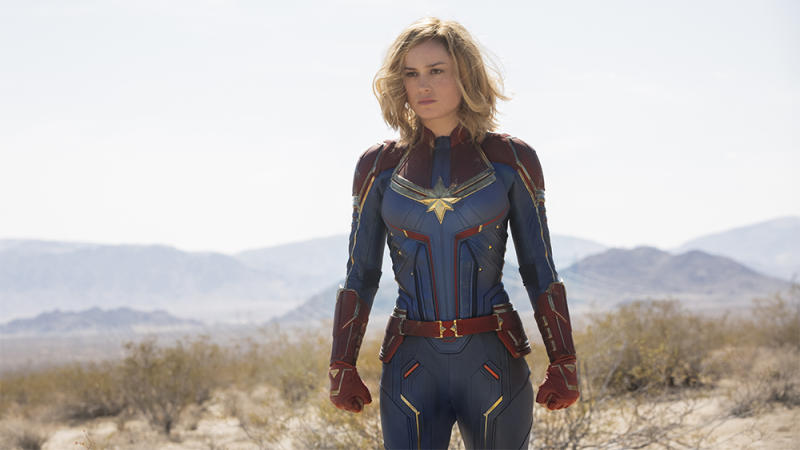 Brie Larson in Captain Marvel (Credit: Marvel/Disney)