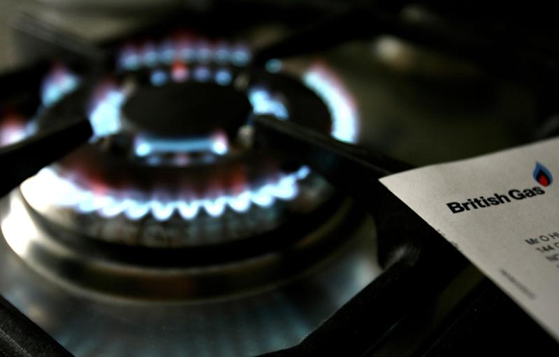 File photo dated 08/02/2007 of a gas hob with a bill from British Gas, whose owners, Centrica, are to cut thousands of jobs after a strategic review which will see its workforce cut by 10\%.