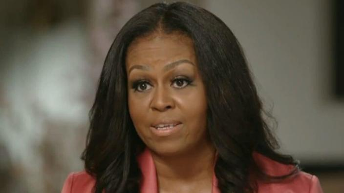 """Former First Lady Michelle Obama (above) spoke on """"CBS This Morning"""" about still living """"in fear"""" after the Chauvin verdict, and TheGrio's April Ryan echoed her sentiments on CNN. (CBS)"""