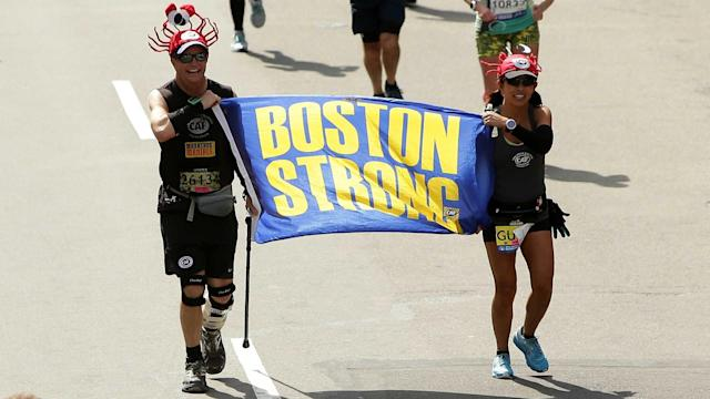 April 17 marks the 121st running of the Boston Marathon, 26.2 miles from Hopkinton to downtown Boston on Patriots Day.