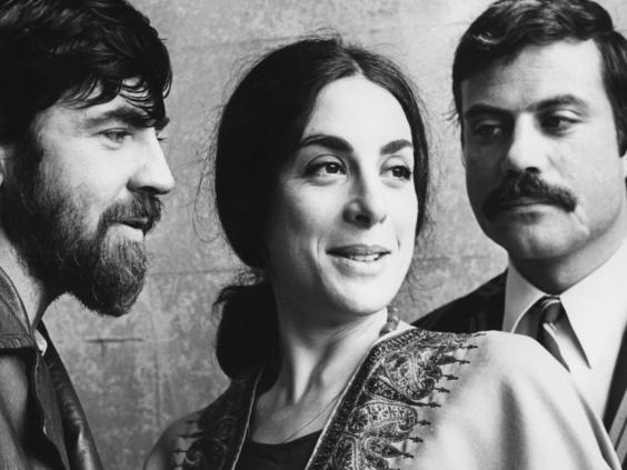 Class act: Eleanor Bron with Alan Bates (left) and Oliver Reed