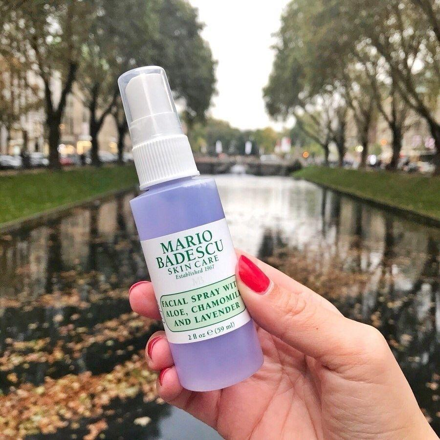 """It's infused with calmingchamomile and lavender for a quick hydration boost. Spritz it on your face whenever your skin is feeling dry and tight.<br /><br /><strong>Promising review:</strong>""""This is a worthwhile indulgence and great value for a luxury beauty product. The smell is exquisite and not overbearing or overly floral. I purchased this because I find the scent of lavender very soothing and it helps me manage stress. <strong>The added bonus is that this actually feels as though it moisturizes and soothes my dry winter skin.</strong>"""" —<a href=""""https://amzn.to/2RHq5bE"""" target=""""_blank"""" rel=""""nofollow noopener noreferrer"""" data-skimlinks-tracking=""""5582326"""" data-vars-affiliate=""""Amazon"""" data-vars-href=""""https://www.amazon.com/gp/customer-reviews/R3S9QS4JBPNTRR?tag=bfjasmin-20&ascsubtag=5582326%2C14%2C25%2Cmobile_web%2C0%2C0%2C0"""" data-vars-keywords=""""cleaning"""" data-vars-link-id=""""0"""" data-vars-price="""""""" data-vars-retailers=""""Amazon"""">Melissa<br /><br /></a><strong>Get it from Amazon for <a href=""""https://amzn.to/3tzWH4t"""" target=""""_blank"""" rel=""""noopener noreferrer"""">$7+</a> (available in two sizes).</strong>"""