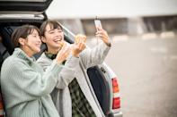 <p>If you can't go to your favorite restaurant to celebrate Valentine's Day, order take-out and have your meal on the road! Ordering to-go is a great way to support a local business, and allows you to enjoy a delicious meal from the comfort of your car.</p>