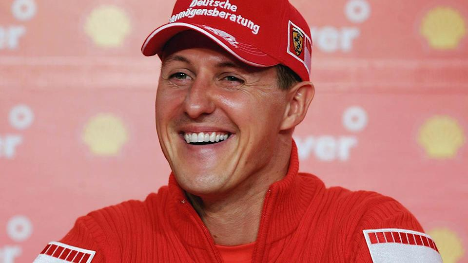 Michael Schumacher in 2006. (Photo by Paul Gilham/Getty Images)