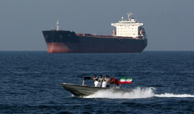 Iran was not invited to an international conference in Bahrain on maritime security, following recent attacks on tankers in the Gulf (AFP Photo/ATTA KENARE)