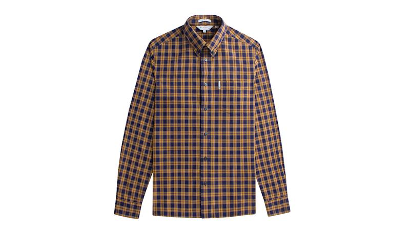 When they launched in 1963, Ben Sherman's shirts were a radical departure from the norm as their colorful oxford fabrics and pastel-hued candy stripes were a significant break from the starched whites that most men wore. All of this color and pattern did not receive a positive reaction initially, but the shirts were quickly picked up by the British youth culture and became a staple in the mod wardrobe.