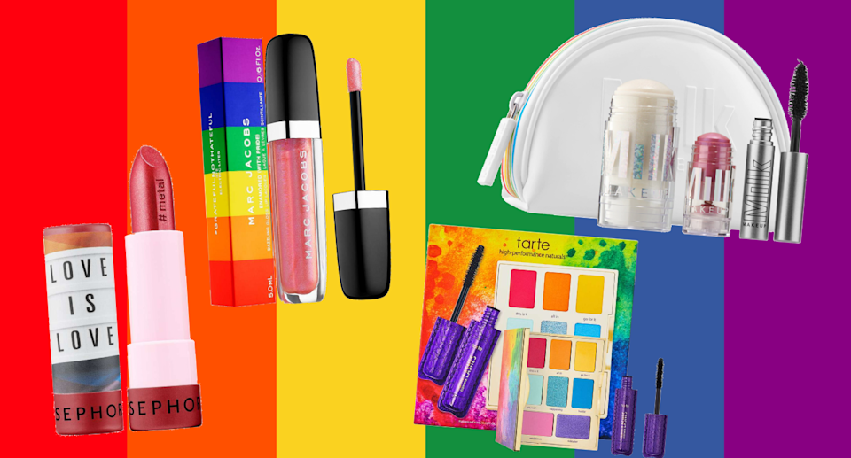These beauty brands are giving back for Pride Month.