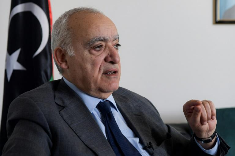 """UN special envoy to Libya Ghassan Salame said he was """"angry"""" at foreign meddling in Libya, where """"hundreds, probably thousands"""" of foreign fighters are operating"""
