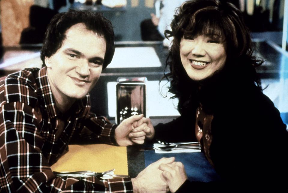 Quentin Tarantino guest-starred on Margaret Cho's sitcom, 'All-American Girl' (Photo: Touchstone Televison / Courtesy: Everett Collection)
