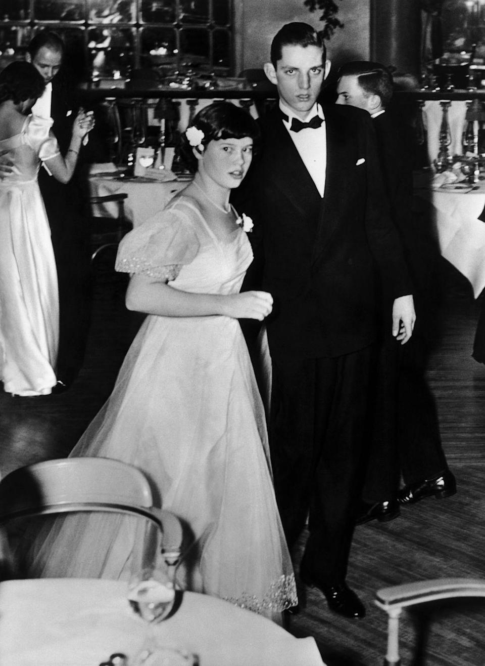 <p>Vanderbilt as a teenager during a New Year's Eve party in New York on January 2.</p>