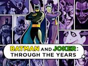Every hero needs a villain, and while loads of evildoers have it out for Batman, none make the Dark Knight tick like The Joker. The two characters have been duking it out for over 70 years (The Joker first appeared in 1940's Batman #1), and just as their comic book looks have changed dramatically over the years, so have their onscreen counterparts. Which of these Batman/Joker combos is your fave?