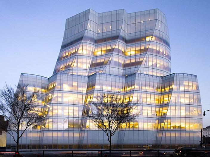 The IAC Building in New York City.