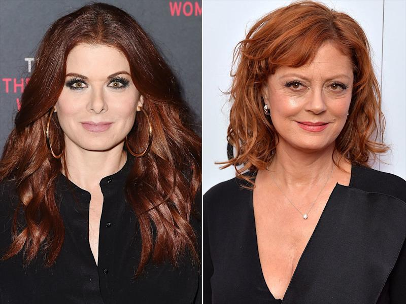 Debra Messing Takes Another Swipe at Susan Sarandon Over Trump: 'Liking the Revolution?'