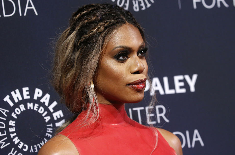 "Actress and activist Laverne Cox says the upcoming Supreme Court case on LGBTQ discrimination could turn out to be ""the most consequential case"" on the issue in her lifetime. (Photo by John Lamparski/Getty Images)"