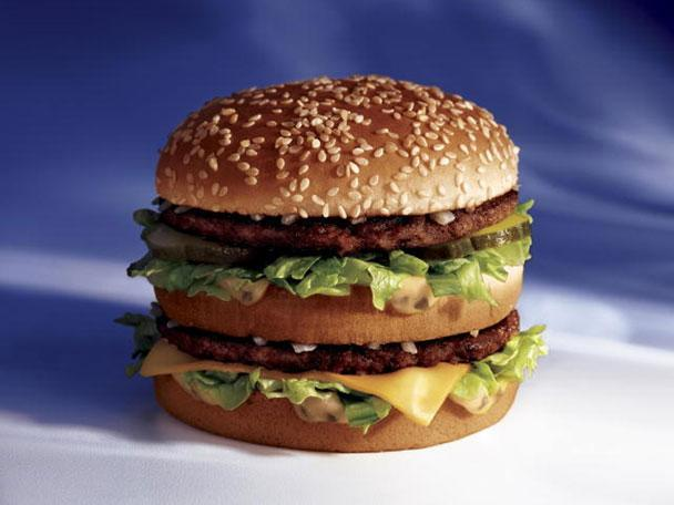 """<div class=""""caption-credit""""> Photo by: Photo: McDonald's USA</div><b>1. McDonald's Big Mac</b> <br> No other food epitomizes fast food like the McDonald's Big Mac. It's a burger so big, it inspired its own jingle: """"Two all-beef patties, special sauce, lettuce, cheese, pickles, onions on a sesame-seed bun."""" Introduced nationwide in 1968, the Big Mac was the creation of Jim Delligatti, who owned and operated several McDonald's restaurants in Pennsylvania. Forty-plus years after the invention of McDonald's signature sandwich, the company still sells more than 550 million Big Macs a year to consumers at 33,000 locations in 119 countries. <br> <b>More from Gourmet:</b> <br> <b><a href=""""http://www.gourmet.com/recipes/menus/2008/08/burger-slideshow?mbid=synd_yshine"""" rel=""""nofollow noopener"""" target=""""_blank"""" data-ylk=""""slk:Gourmet's 12 Best Burgers of All Time"""" class=""""link rapid-noclick-resp"""">Gourmet's 12 Best Burgers of All Time</a> <br> <a href=""""http://www.gourmet.com/recipes/2000s/2009/03/sandwiches-of-the-world-slideshow#slide=1?mbid=synd_yshine"""" rel=""""nofollow noopener"""" target=""""_blank"""" data-ylk=""""slk:The Best Sandwiches Around the World"""" class=""""link rapid-noclick-resp"""">The Best Sandwiches Around the World</a> <br></b>"""