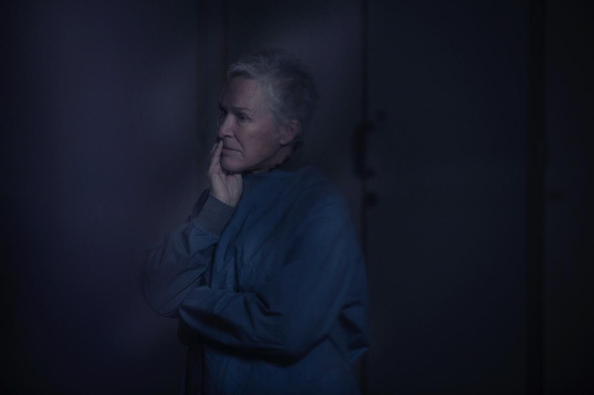 "Dr Caldwell (Glenn Close) in ""The Girl with All the Gifts"". (Dean Rogers and Cathay-Feris Films)"