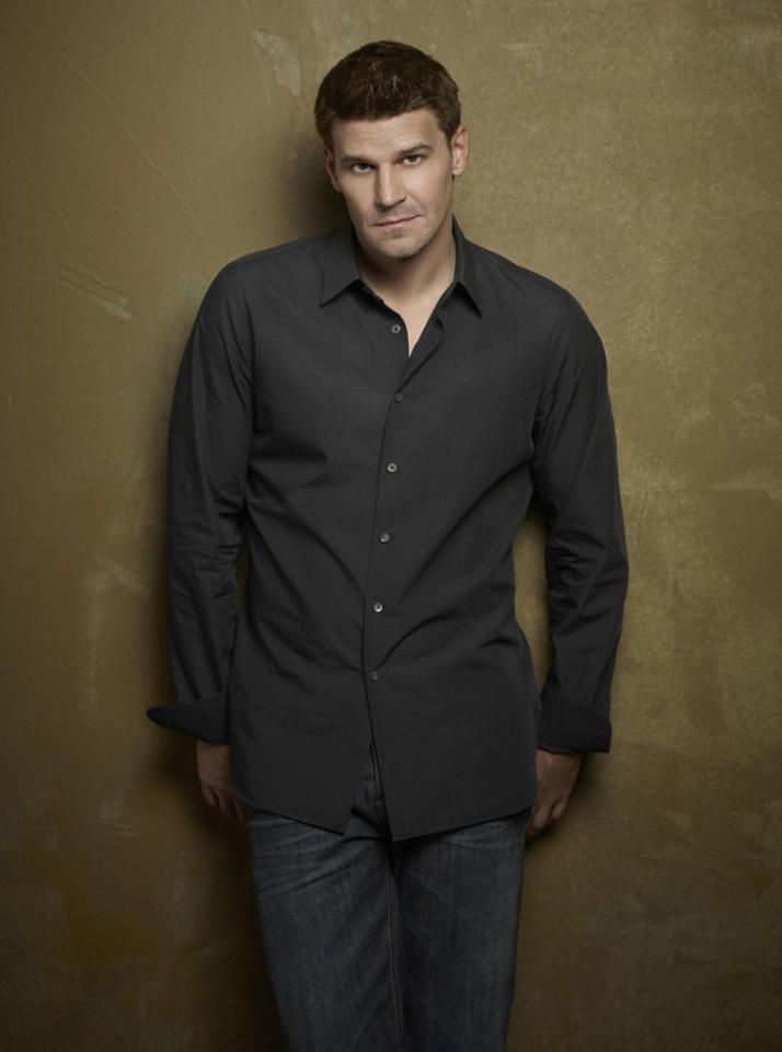 "David Boreanaz returns as Special Agent Seeley Booth in Season 8 of ""Bones."""