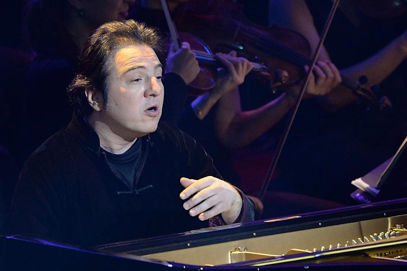 Turkish pianist Fazil Say was initially handed a 10-month sentence in 2013 before a retrial was ordered (AFP Photo/Boris Horvat)