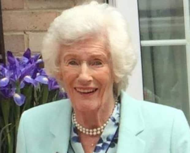 Lady Violet Aitken in a recent photo, posted on the Beaverbrook Foundation website.