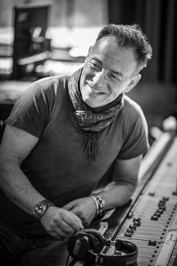Bruce Springsteen in 'Letter to You'