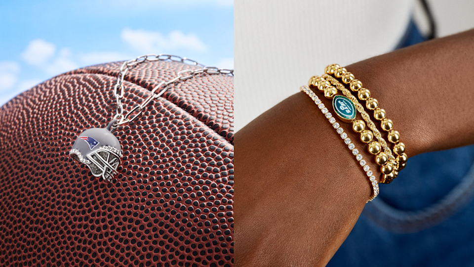 The new Baublebar x NFL assortment has something for every football fan.