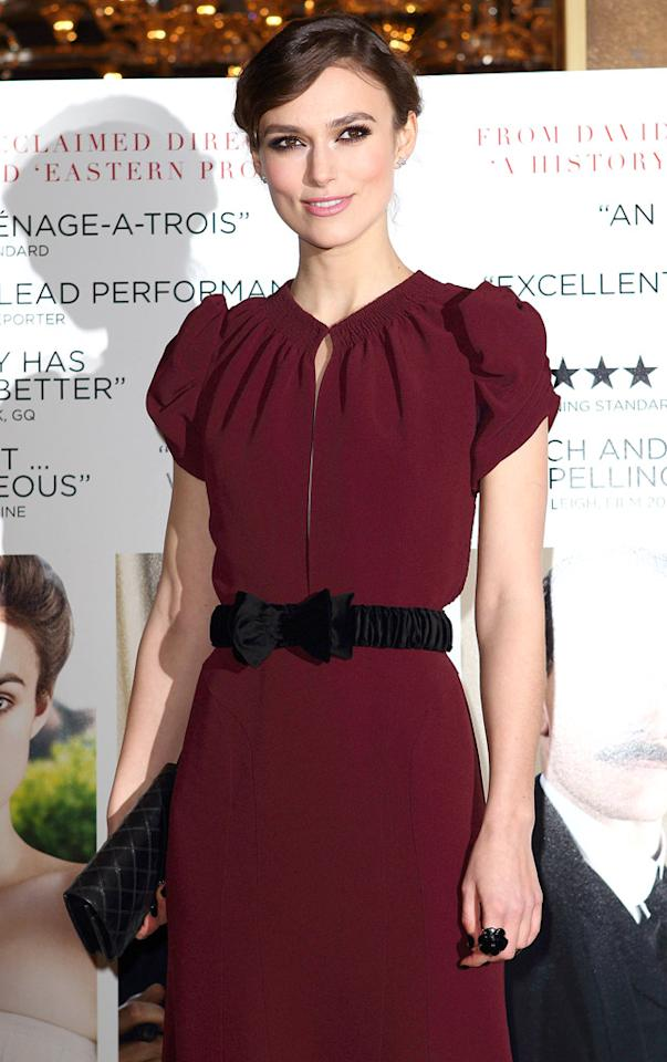 Keira Knightley turns 27 on March 26.