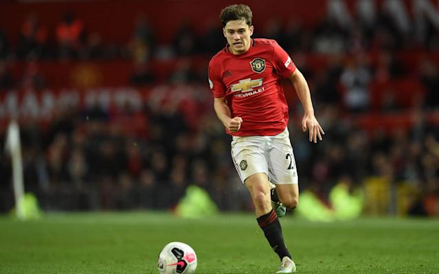 Daniel James impressed again for Manchester United against league leaders Liverpool - AFP
