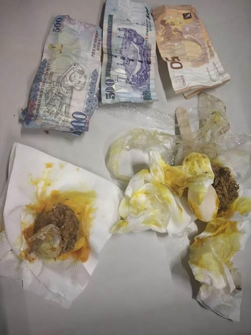 WATCH: CISF seizes foreign currency hidden inside peanuts, meatballs at Delhi airport
