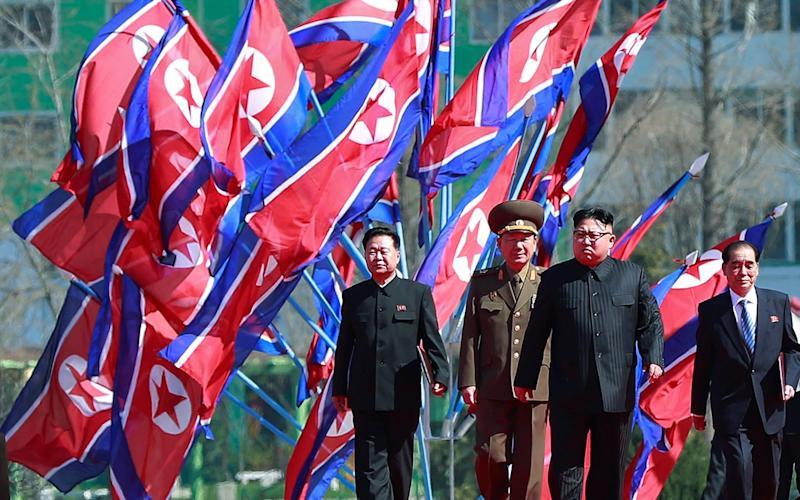 North Korean leader Kim Jong-un - EPA