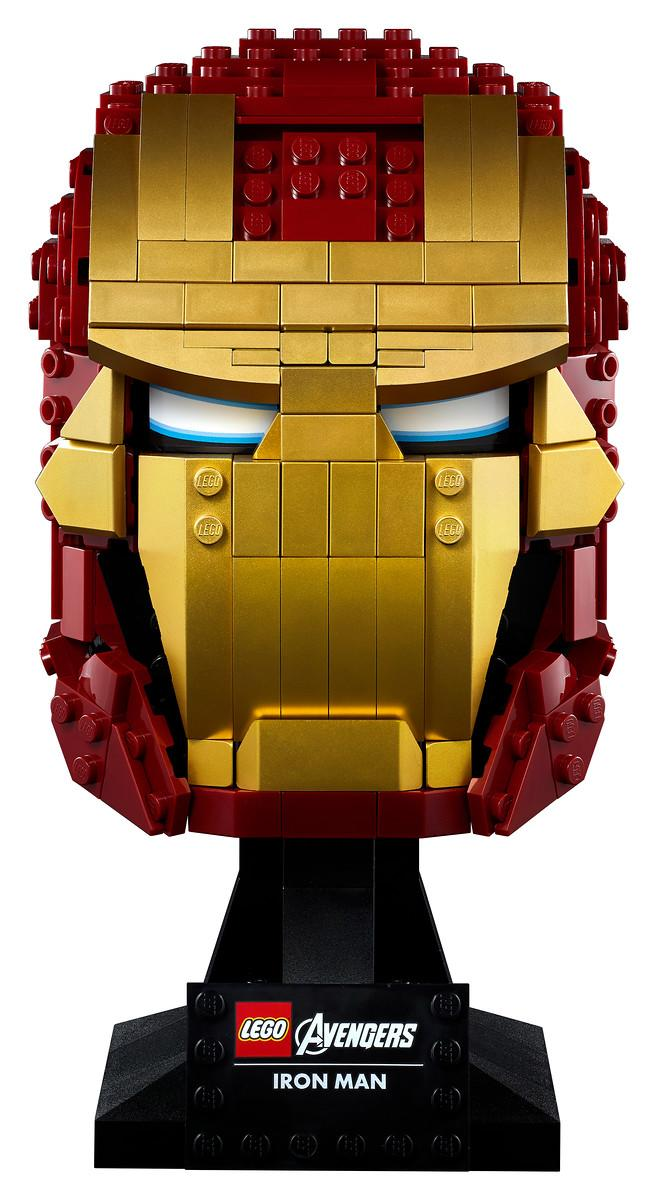 Lego Marvel Avengers Iron Man Helmet (Photo: Disney Parks, Experiences & Products)