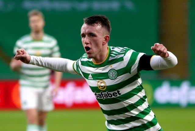 Celtic's David Turnbull could be set for his first Scotland cap.