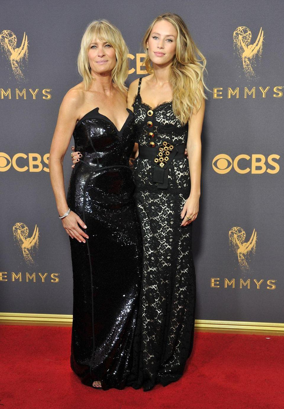 <p>The House Of Cards actress took her daughter along to the Emmys, and the family resemblance was uncanny.</p>