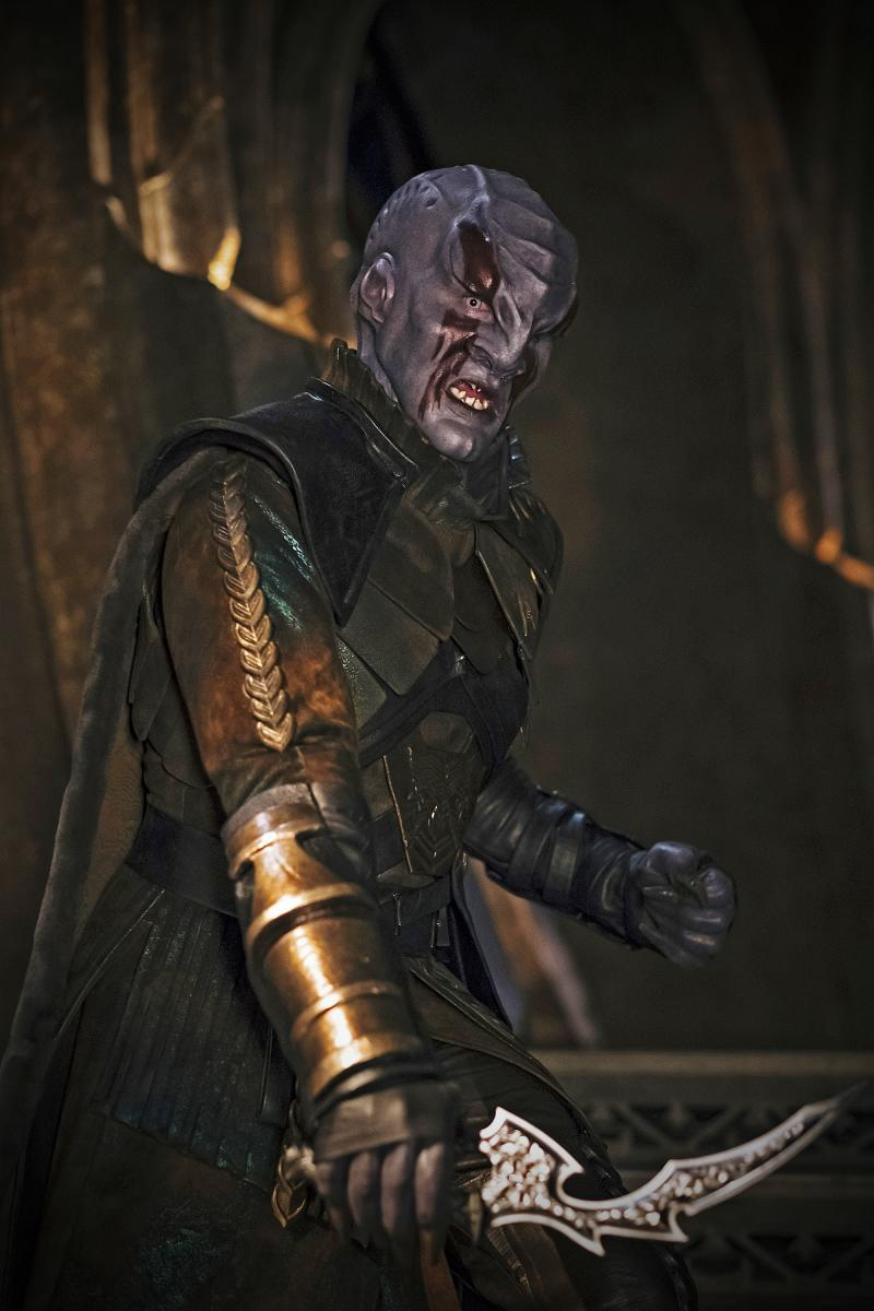 Latif was originally cast as Klingon warlord Kol, a role now played by Kenneth Mitchell. (Photo: Jan Thijs/CBS Interactive)