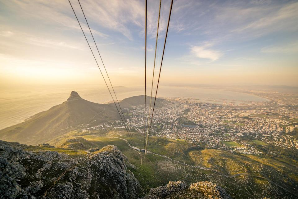 Table Mountain Aerial Cableway in Cape Town