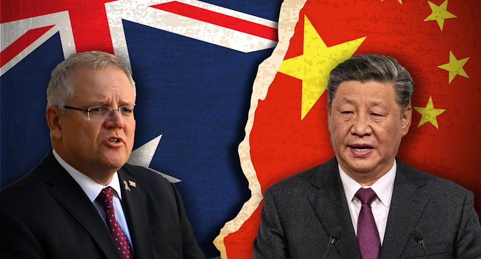 Australia and China have endured a  rapidly-declining relationship in recent years. Source: Getty/ AAP