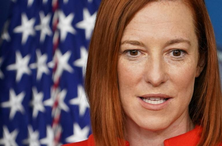 White House Press Secretary Jen Psaki told reporters President Joe Biden had raised concerns over Alexei Navalny's poisoning in his first phone call with Russia's Vladimir Putin since taking office