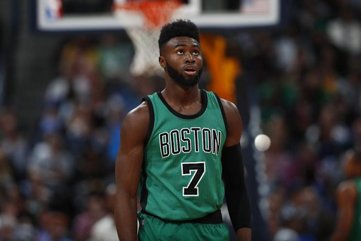 Jaylen Brown is the latest victim of the NBA s rookie popcorn prank b2ea7a466