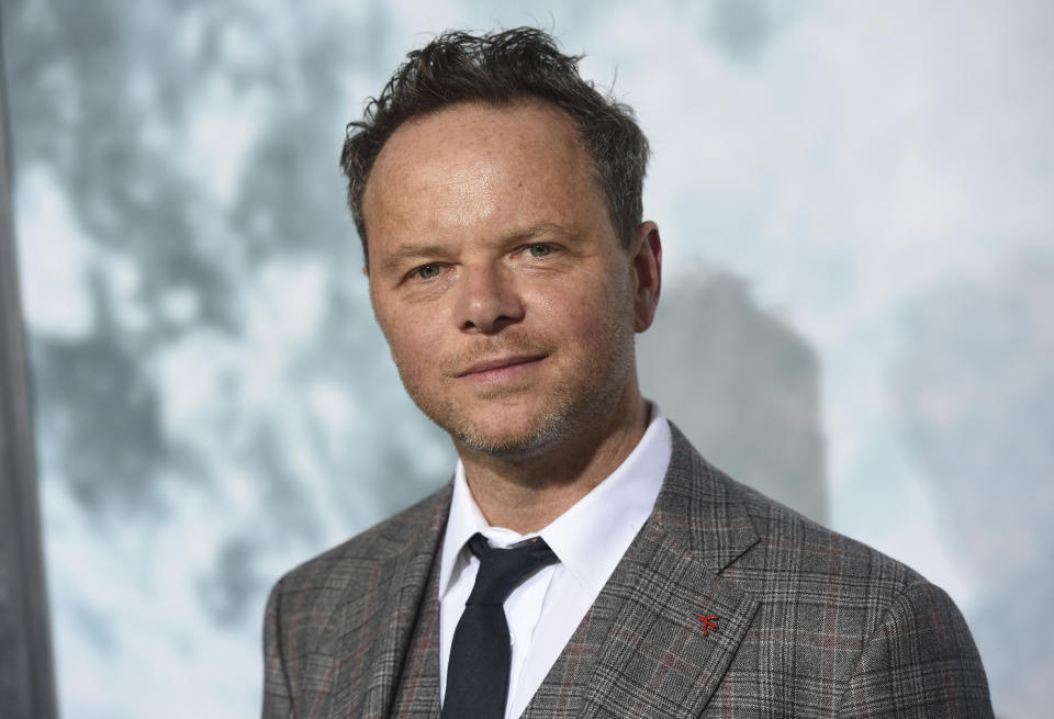 """Director Noah Hawley arrives at the Los Angeles premiere of """"Lucy in the Sky"""" at Fox Studios on Wednesday, Sept. 25, 2019. (Photo by Chris Pizzello/Invision/AP)"""