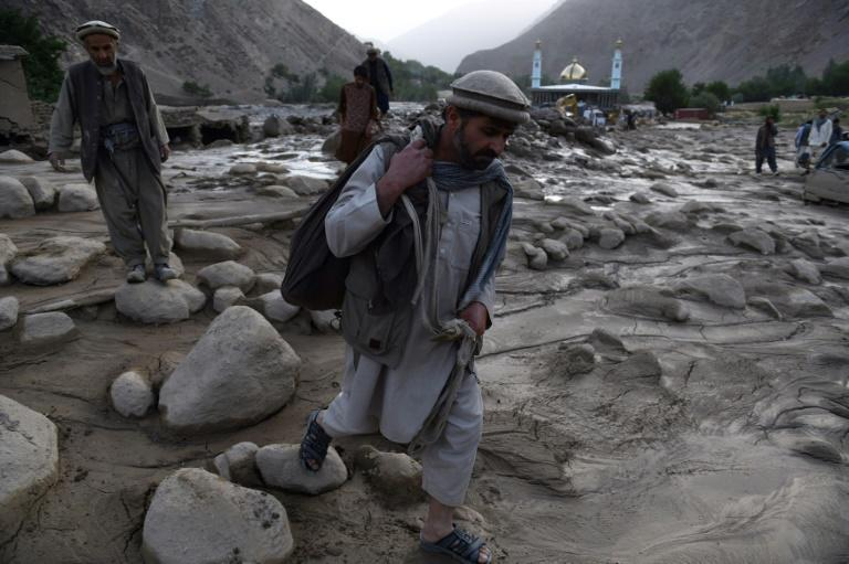 At least 10 people were killed by the landslide in Afghanistan's mountainous Panjshir province