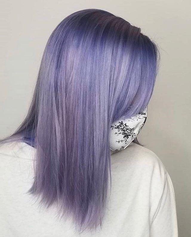 "<p>Can we just take a moment to appreciate this <strong>icy lavender <a href=""https://www.cosmopolitan.com/style-beauty/beauty/advice/a44632/hair-color-things-you-must-know/"" rel=""nofollow noopener"" target=""_blank"" data-ylk=""slk:hair color"" class=""link rapid-noclick-resp"">hair color</a></strong>? Thanks, now go screenshot this look and send it to your colorist.</p><p><a href=""https://www.instagram.com/p/CB09steBrKF/"" rel=""nofollow noopener"" target=""_blank"" data-ylk=""slk:See the original post on Instagram"" class=""link rapid-noclick-resp"">See the original post on Instagram</a></p>"